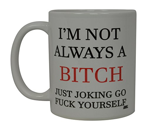 Best Funny Coffee Mug Not Always Novelty Cup Joke Great Gag Gift Idea For Men Women Office Work Adult Humor Employee Boss -
