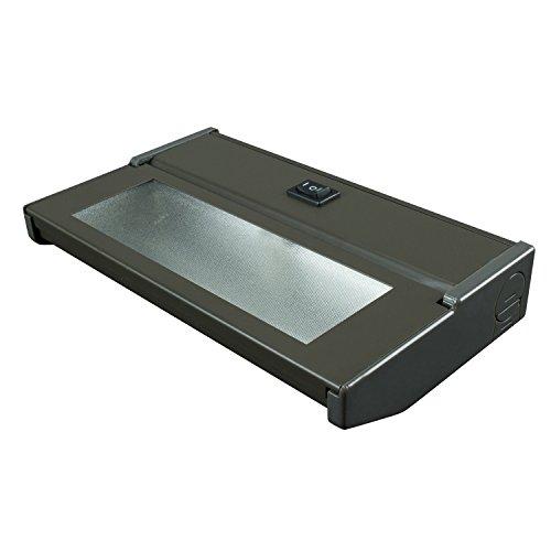 (American Lighting LXC1H-DB Hardwire Xenon Under Cabinet Light, 20-watt, High/Low Switch, 120-volt, 8-Inch, Bronze)