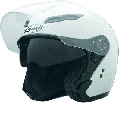 Gmax GM67S Open Face Helmet Pearl White