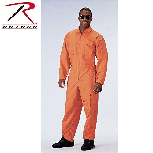 Rothco Flight Coverall - Orange/XX-Large