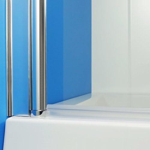 Duschabtrennung Duschwand Glasbtrennung Duschtrennwand 185x80 aus Glas