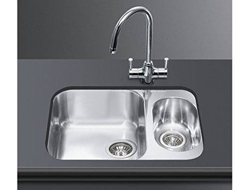 Smeg UM3416-1 Sink Stainless Steel by Smeg by Smeg