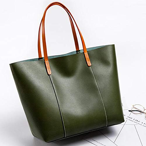 New Mother Solid color Winter Simple Pink Color Bag Tote And Autumn Handbag Ladies Large Green Capacity xYw7r4qY1
