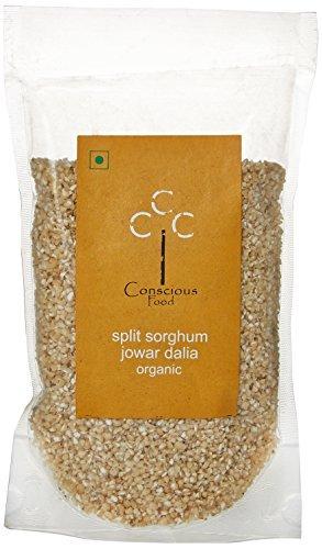 Conscious Food Organic Split Sorghum (Jowar Dhalia)-200g by CONSCIOUS FOOD