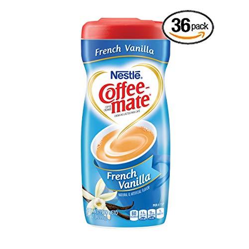 Nestle Coffee-mate Coffee Creamer, French Vanilla, 15oz powder creamer - Pack of 36 by Nestle Coffee Mate (Image #6)
