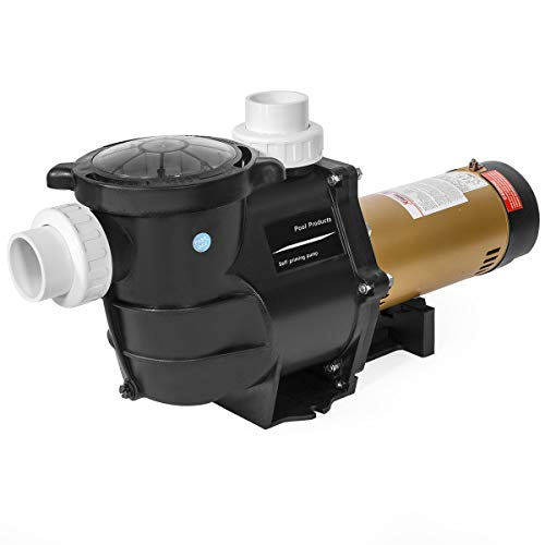 "XtremepowerUS 75035-1 2 HP Self Prime in/Above Ground Swimming 2"" NPT Fitting ETL Pool Pump, Black"
