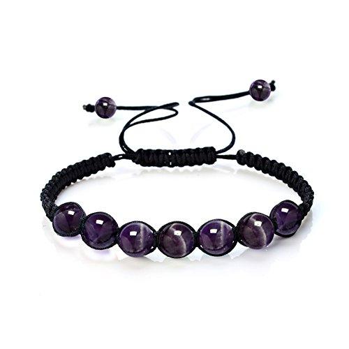 Leefi Bracelets Amethyst Healing Balance