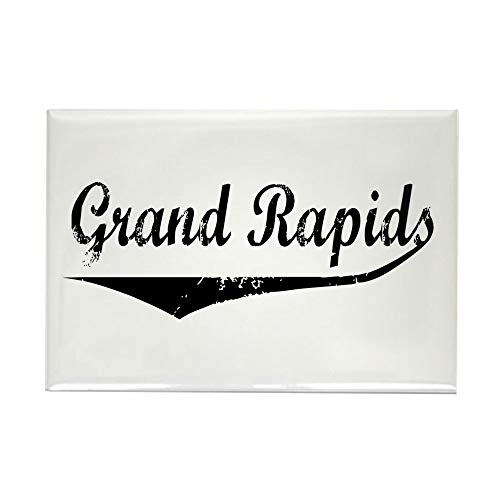 CafePress Grand Rapids Rectangle Magnet, 2
