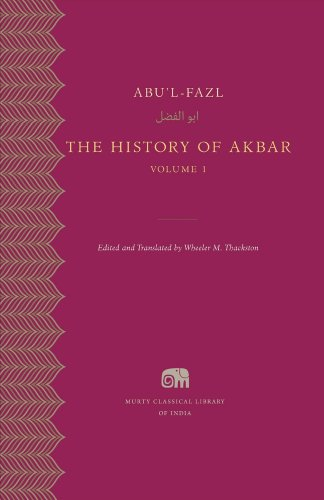 The History of Akbar, Volume 1 (Murty Classical Library of India)
