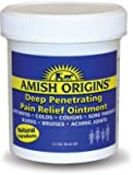 Amish Origins Deep Penetrating Pain Relief Ointment, Colds 3.5 Oz (2 Pack)