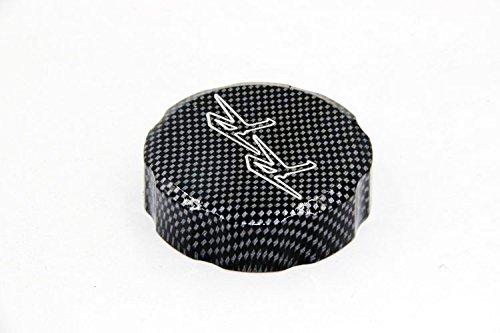 Htt grupo/ /Dep/ósito de l/íquido de frenos de fibra de carbono Cap Cover rr grabado para Honda CBR 600RR 900RR 929Rr 954Rr 1000RR
