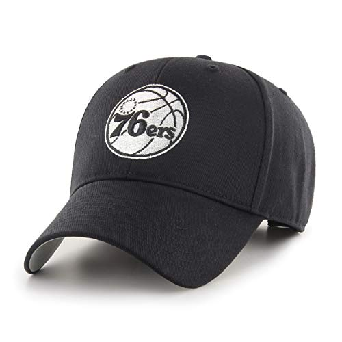 - OTS Adult Men's NBA Star Adjustable Hat, Black and White, One Size