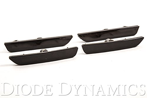 Smoked LED Sidemarkers for 2010-2014 Ford Mustang