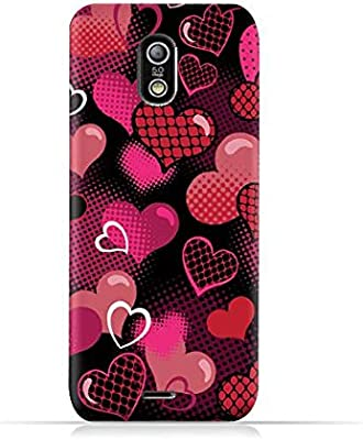 official photos 9d1f0 488cf Infinix Hot X507 TPU Protective Silicone Case with Valentine Hearts ...