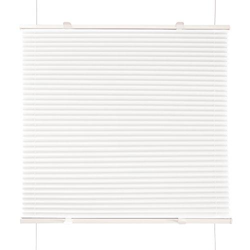 Plissee Weiß 115x120cm Klemm Fix Plissee