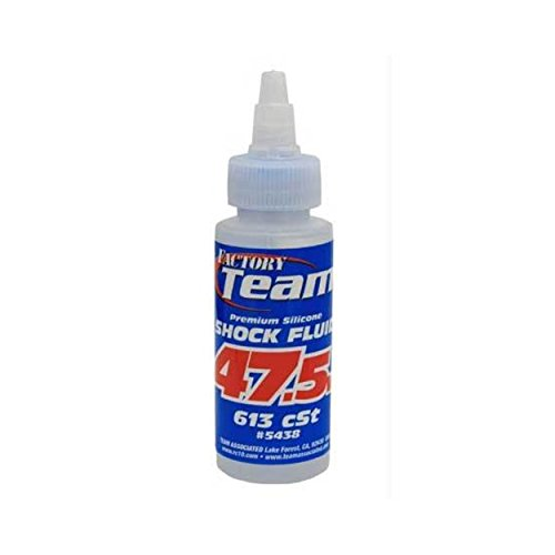 Team Associated 5438 Weight Silicone Shock Oil, 47.5/2-Ounce