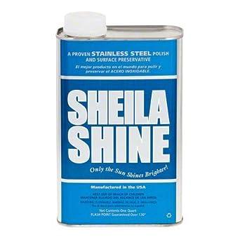 Amazon.com: Sheila Shine - Esmalte de acero inoxidable para ...