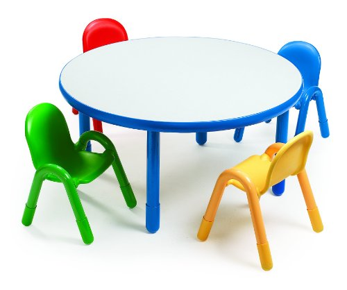 Angeles Preschool Table & Chair Set ROYAL BLUE