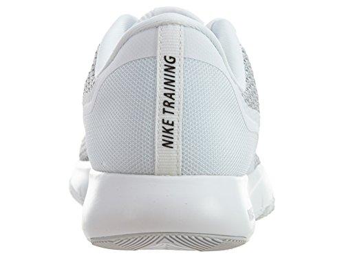 Nike Women's Flex Trainer 5 Shoe White/Metallic Silver/Pure Platinum cheap really ebay shop online classic cheap online wide range of cheap online uaIONaj1