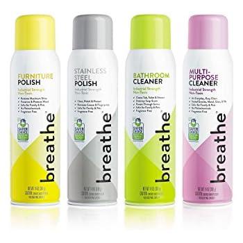 Breathe deep clean kit includes breathe - Industrial strength bathroom cleaner ...
