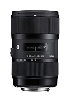 Sigma 210306 18-35mm F1.8 DC HSM Lens for Nikon APS-C DSLRs (Black) (B00DBL09FG) | Amazon price tracker / tracking, Amazon price history charts, Amazon price watches, Amazon price drop alerts