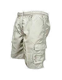 MIOIM Mens Plain Sport Shorts Cargo Combat Pants Summer Sweatpants