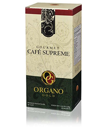 6 Box 100% Certified Organic Organic Ganoderma Gourmet Organo Gold Cafe Supreme Offer Free Express by Organo Gold