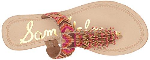 Pink 1 Sandal Women Slide Anella Sam multi Edelman tBwYqxFf