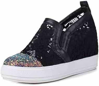 489e086509be7 Shopping XinAndy or BONJOMARISA - Black - 3 - Fashion Sneakers ...