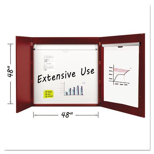 Bi-silque 2-door Cherry Conference - Cabinet 2 Door Conference