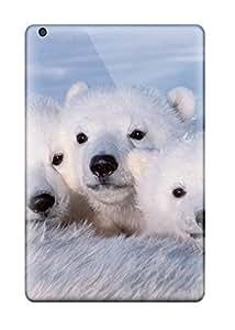 Fashion Protective Polarbears Case Cover For Ipad Mini/mini 2