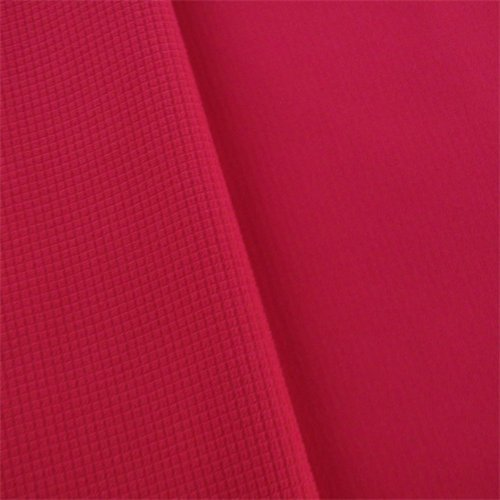 Hot Pink Waterproof Stretch Soft Shell Grid Fleece, Fabric by The Yard