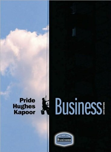 Read Online by Jack R. Kapoor,by Robert J. Hughes,by William M. Pride Business(text only)10th (Tenth) edition[Hardcover]2009 pdf epub