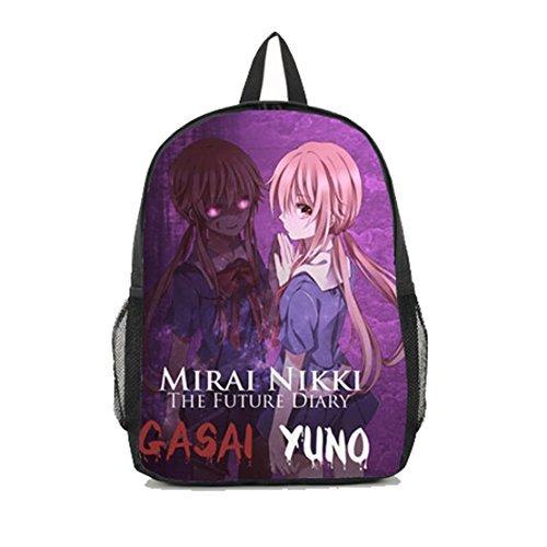 Dreamcosplay Future Diary Yuno Gasai School Backpack Student Bag -