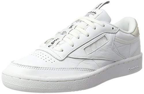 Reebok Herren Club C 85 It Gymnastikschuhe Elfenbein (White/skull Grey/black)