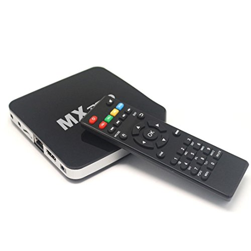 TV Box, Emubody Smart TV BOX Android 4.4 Quad Core 1G+8G 1080P for Kodi WIFI Media Player