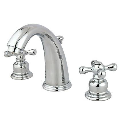 Amazoncom Kingston Brass 8 To 16 Inch Center Wide Spread Bathroom