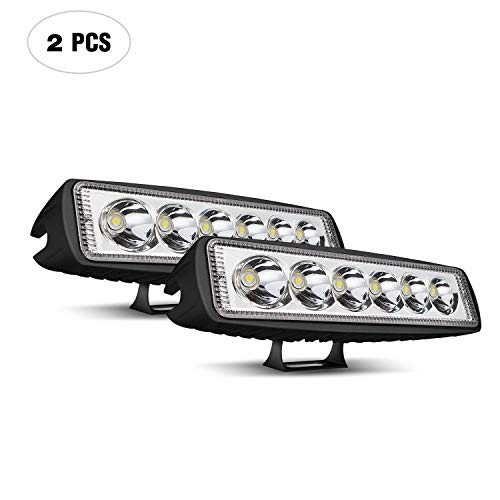 LED Light Bar KEENAXIS 6 Inch LED Light 2Pcs 18W Spot for sale  Delivered anywhere in Canada