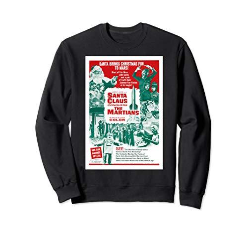 Conquers Martians Movie Poster - Vintage Movie Santa Claus Conquers the Martians Sweatshirt
