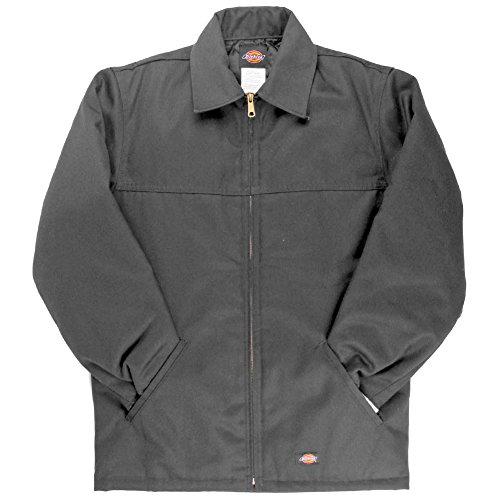 Dickies Men's Hip Length Lined Zip Up Twill Jacket Work Uniform Style # 78266AL ()