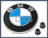 """BMW Genuine Hood Roundel Emblem with 2 Grommets"