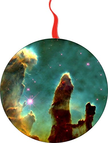 Telescope Ornament - Hubble Space Telescope Christmas Tree Holiday Ornament Printed Double- 2 Sided Decoration Great Unisex