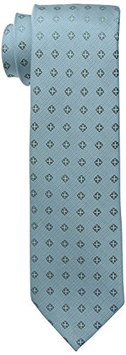 - Calvin Klein Men's Cross Medallion Tie, Aqua, One Size