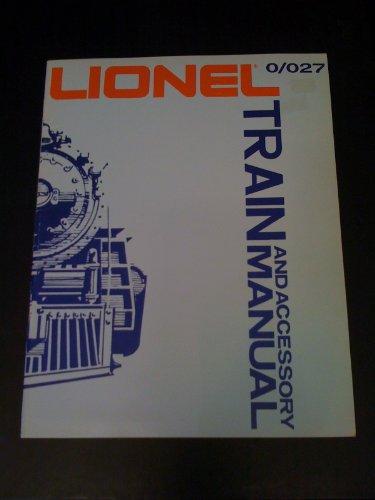 Lionel Train and Accessory Manual