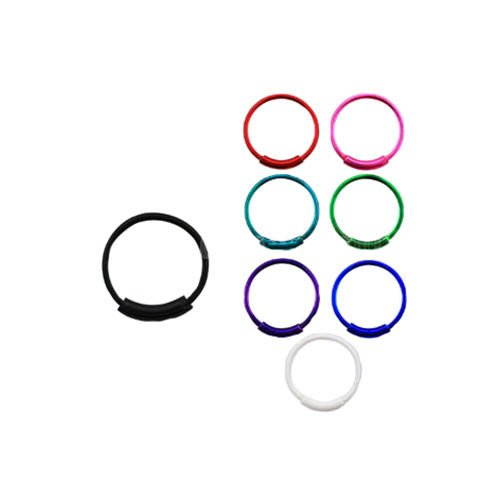 Plated Sterling Silver Nose Ring Hoop Jewelry Jewellery 1/4
