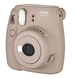 Fujifilm Instax Mini 8+ Instant Film Camera - International Version(Cocoa)