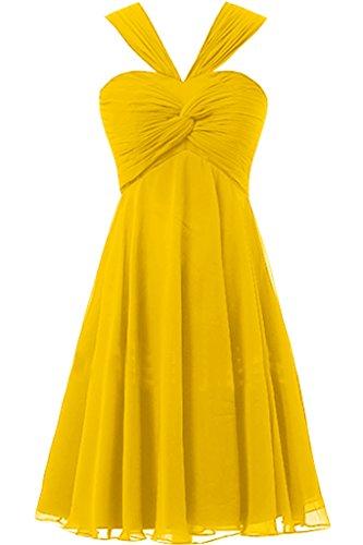 Missdressy - Robe - Femme -  jaune - 50