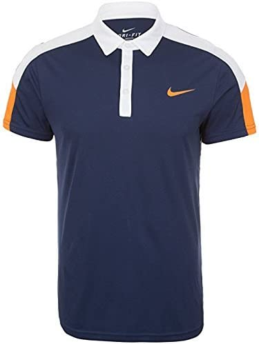 Nike tenis Team Court Tenis Polo Azul azul Talla:medium: Amazon.es ...