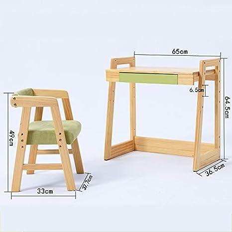 1 Mesa 1 Silla] Mesa de Estudio y Silla de Estudio de niños ...
