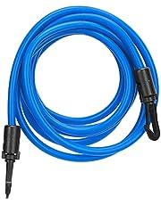 Swim Bungee Cords Resistance Bands, Adjustable with Strong Toughness Praktiska simträningsbälten för vatten aerobics terapi, träning